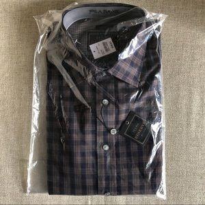 Plaid Jos. A. Bank Collared Shirt